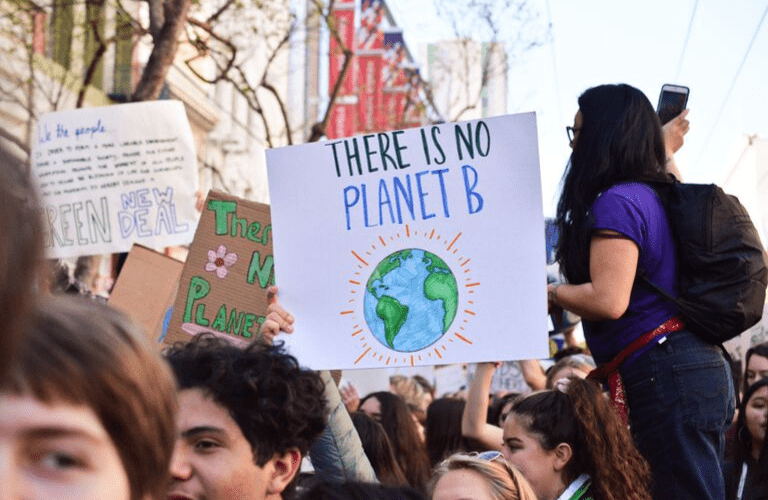 Taking action as a small business during the Global Climate Strike