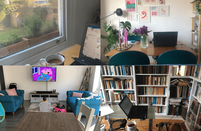 Looking after your wellbeing when working remotely