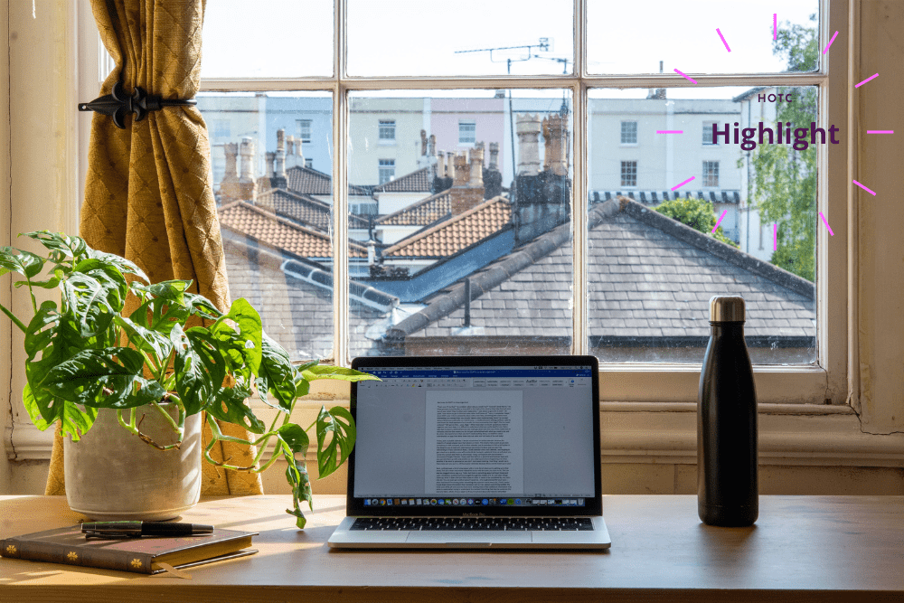 Working from home sustainably: November HotC Highlight